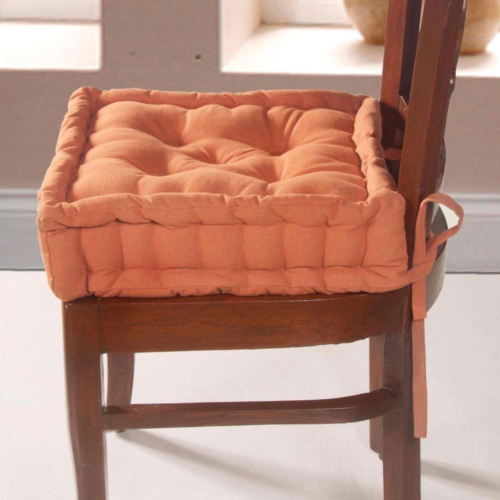 Homescapes Extrahohes Sitzkissen Orthop%C3%A4disch Mit B%C3%A4ndern Sitzerh%C3%B6hung Aufstehhilfe Ca. 40 X 40 X 10 Cm Bezug Aus Baumwolle 100