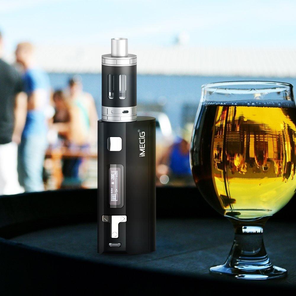 IMECIG® Q5 E Zigarette Starterset 80W Box Mod Set Test