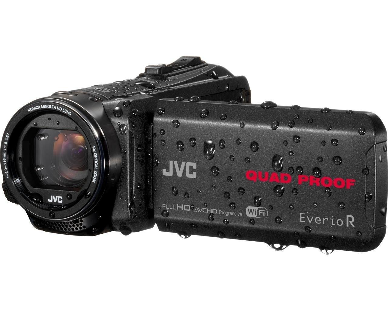 JVC GZ RX640BEU Full HD Speicherkarten Camcorder