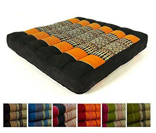 Kapok Sitzkissen 35x35x6,5cm der Marke Asia Wohnstudio