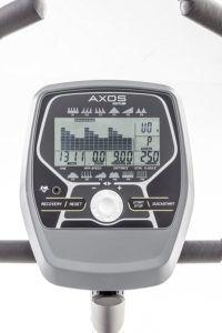 Der Ketteler Heimtrainer Fahrrad AXOS Cycle P hat einen einfach zu bedienenden Trainingscomputer.