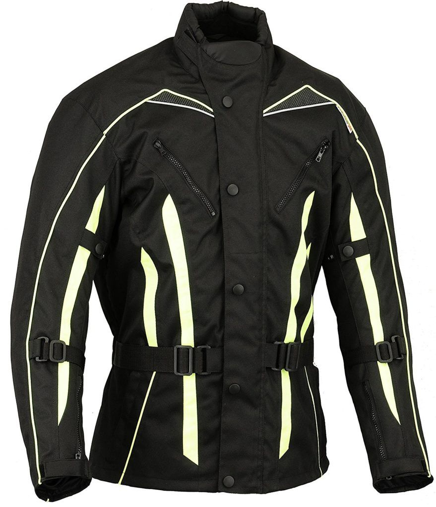 M%C3%A4nner Hallo Sichtbarkeit Motorrad Jacke Wasserdicht Mantel Hivis XXXXXL