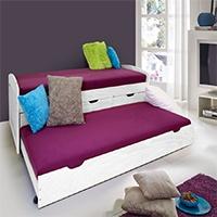 Möbel-Eins Tandembett   im Test