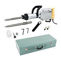 MSW - ABH-1850 - Abbruchhammer - Schlagfrequenz von 1900/min - SDS-HEX Werkzeugaufnahme - 1850 Watt Nennaufnahmeleistung