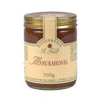 Manuka-Honig (Teebaum), Neuseeland, dunkel, flüssig, kräuterartig kräftig, 500g
