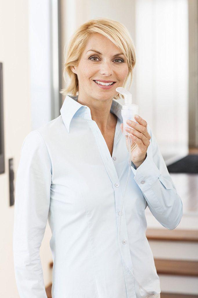 Medisana IN 500 Compact Inhalator Mit Extra Langem Schlauch 2m Umfangreiches Zubeh%C3%B6r Zertifiziertes Medizinprodukt..