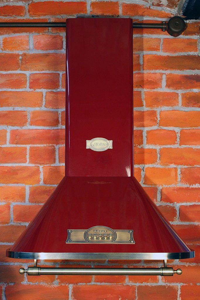 NEUHEIT Exklusive Designer Dunstabzugshaube 60cm Empire Bordeaux