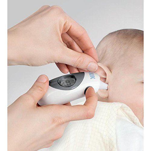 NUK Baby Thermometer 2in1 Extra Kleiner Messaufsatz.