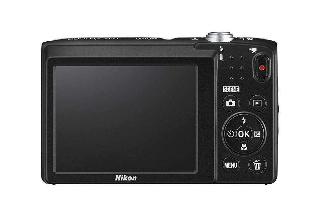 Nikon Coolpix A100 Digitalkamera Kompakt 20.1 Megapixel Zoom 5 X HD Silber
