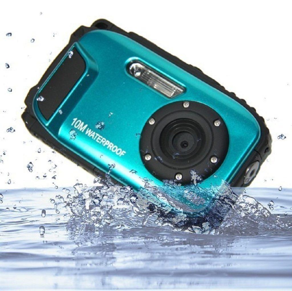 PowerLead 2.7 Zoll LCD Kameras 16MP Digitalkamera Unterwasser 10m Wasserdichte Kamera 8x Zoom