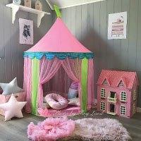 Prinzessin-Schloss-Spielzelt-Kinder