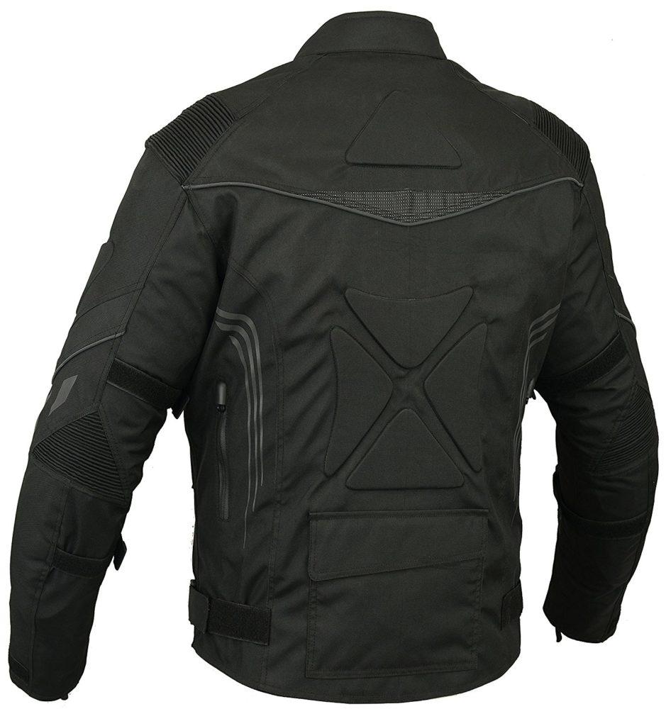 R%C3%BCcken Gepolstert Motorrad Jacke Wasserdicht Atmungsaktiv Mit Protektoren