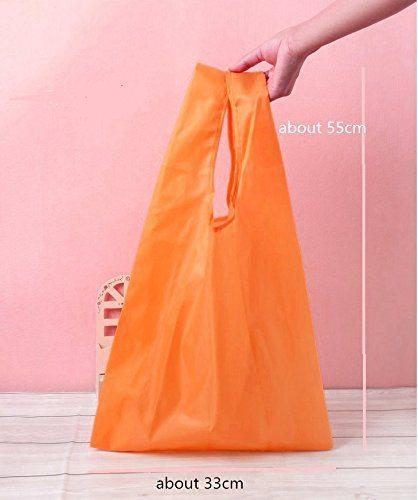 RayLineDo%C2%AE Packung Mit 7 Strawberry Reusable Faltbare Einkaufstasche Grocery Einkaufstragetaschen Bequeme Einkaufst%C3%BCten Und Handlich Einkaufen Reisetaschen