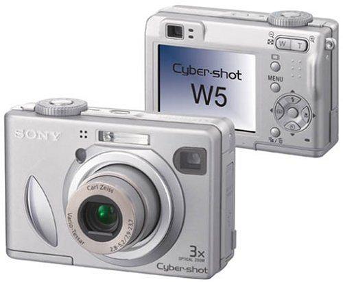 Sony Cyber Shot DSC W5 Digitalkamera