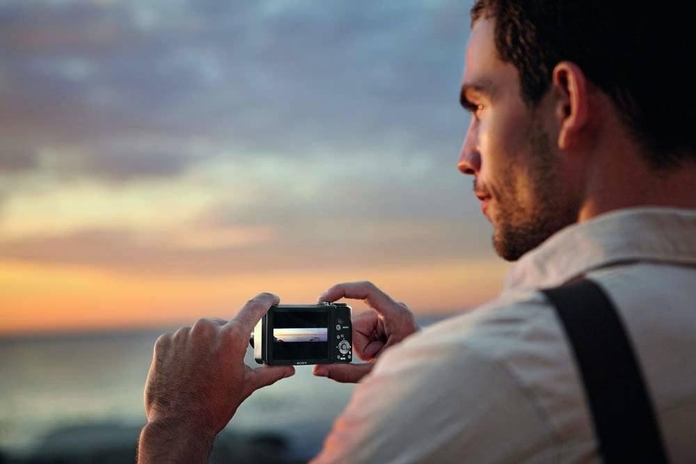 Sony DSC HX5V Digitalkamera