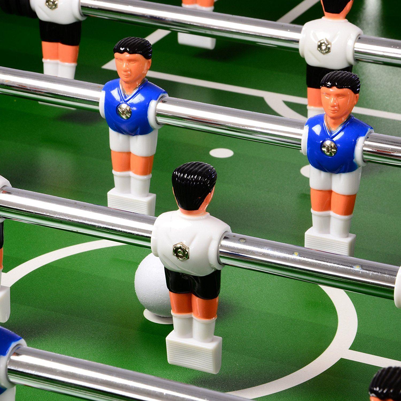 Tischfußball Profi Black Edition Tischkicker Fortaleza Von Nexos Figuren