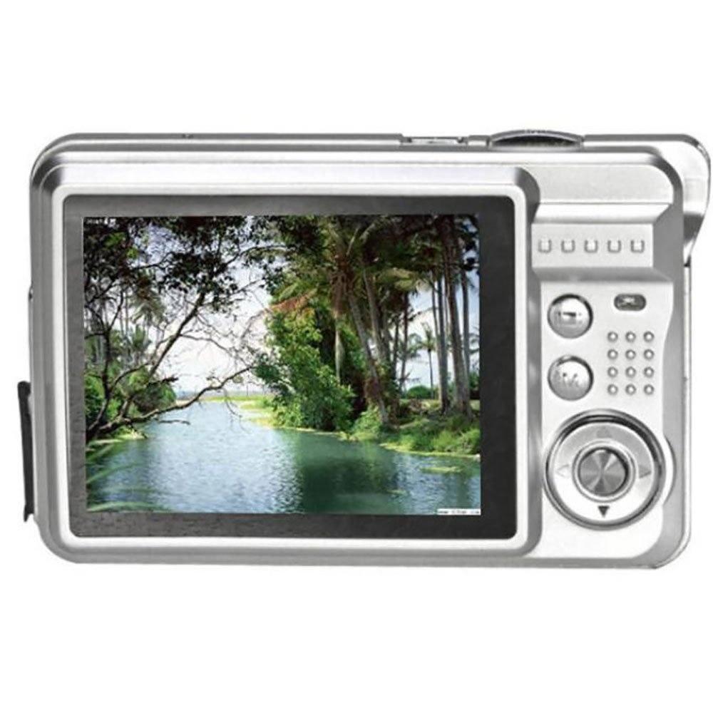 Tonsee 18 Mega Pixels CMOS 2.7 Inch TFT LCD Screen HD 720P DigitalkameraSilber