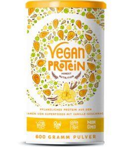 Vegan Protein (Vanille) - Super für Smoothies oder Rohkost Gerichte