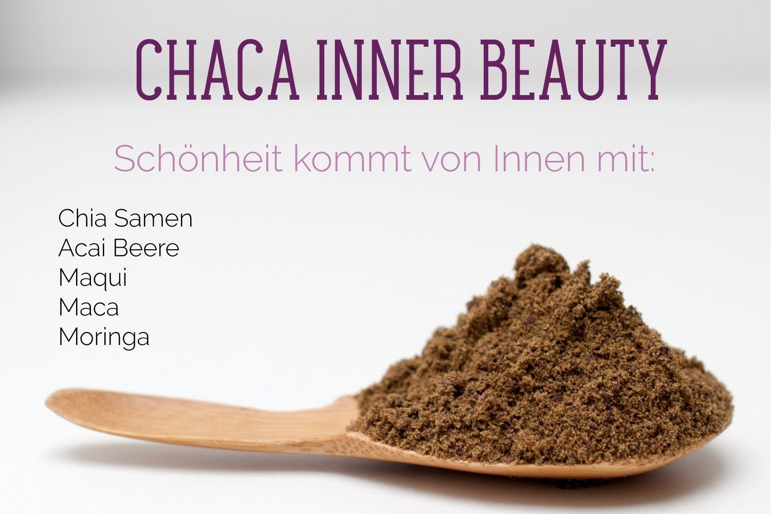 Veganes Bio Superfood Pulver INNER BEAUTY für Smoothies Inner Beauty