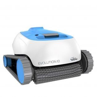 Poolroboter Dolphin Evolution E10 von Maytronics in der Frontansicht