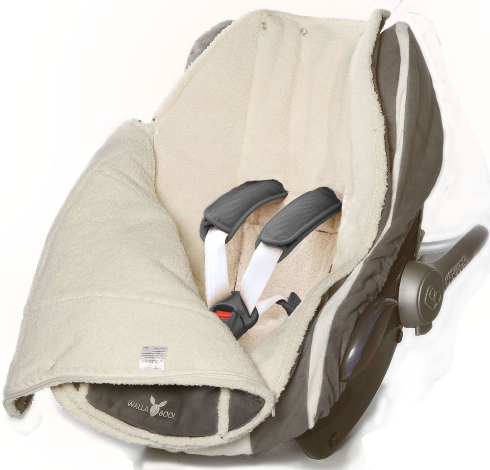 Wallaboo Fu%C3%9Fsack Universal F%C3%BCr Babyschale Autositz Z.B. F%C3%BCr Maxi Cosi R%C3%B6mer F%C3%BCr Kinderwagen Buggy Oder Babybett