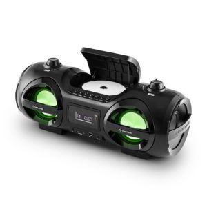 Der auna Soundblaster M verfügt über einen CD Spieler.