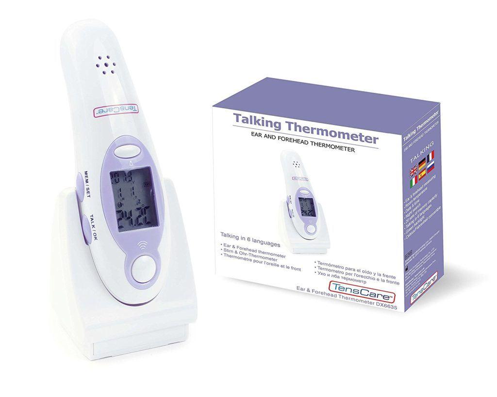 Enscare Stirn Und Ohrtermometer Mit Sprachansage K TT 1