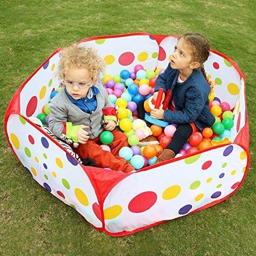 Wicemoon Kinder Spielen Zelt Laufgitter Kinder Ball Pit Ball Zelt Kleinkinder Ball Pit Mit Aufbewahrungstasche Ideal F%C3%BCr Innen Und Au%C3%9Feneinsatz