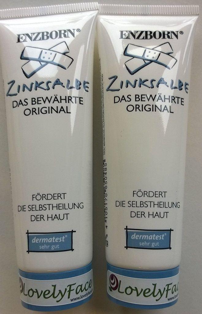 2 X Enzborn Zinksalbe 50 Ml 2er Pack 2 X 50 Ml