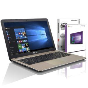 ASUS (15,6 Zoll) Notebook (Intel N4200 Quad Core 4x2.50 GHz, 8GB RAM, 1000GB S-ATA HDD, Intel HD 505 Graphic, HDMI, VGA, Webcam