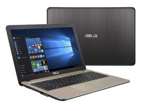 ASUS (15,6 Zoll) Windows 10 Notebook (Intel N3050 Dual Core 2x2.16 GHz, 4GB RAM, 500GB S-ATA HDD, Intel HD Graphics, HDMI, VGA, Webcam, USB 3.0, USB Type-C, WLAN, DVD-Brenner, Office 2016