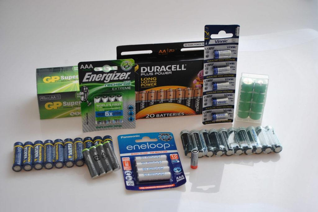 Batterien 10