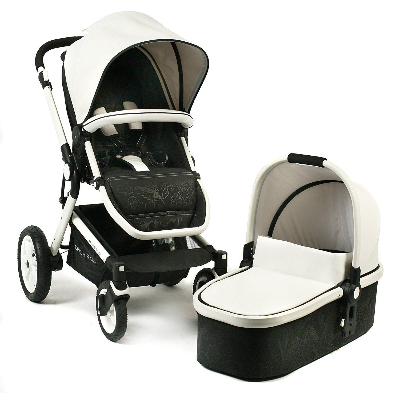 Kombikinderwagen von Chic4Baby mit Babyschale