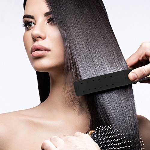 Haare glätten in 5 Minuten • so geht's!