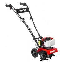 Hecht Benzin - Gartenfräse 743 Motorhacke 2 PS, 23,5cm Arbeitsbreite 2-Takt