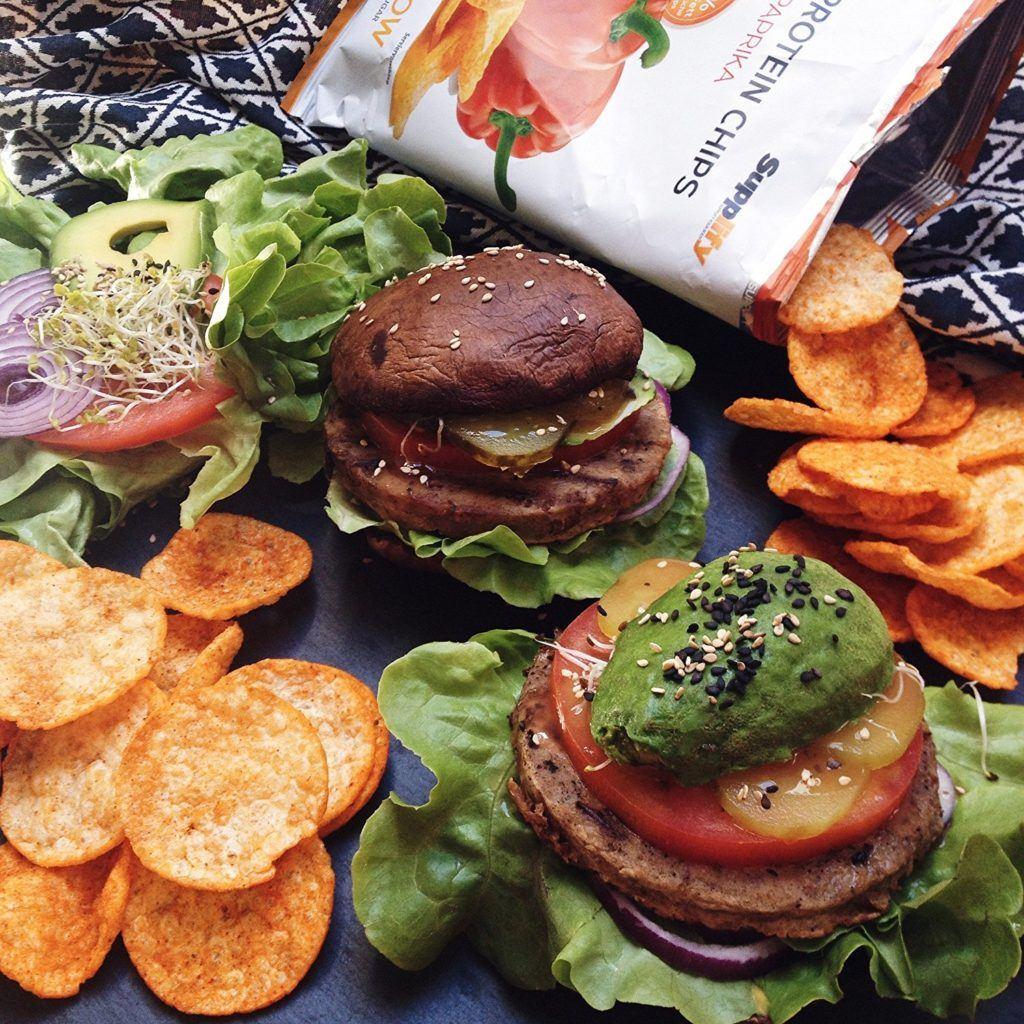 High Protein Chips Eiwei%C3%9F Fitness Snack Von Supplify Mixed 6x50g Whey Proteinpulver Riegel Ersatz In 3 Versch.