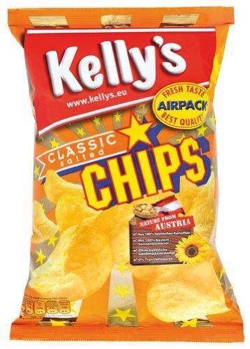 Kellys Chips Classic Gesalzen 175gr 4x