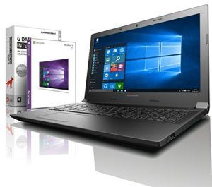 Lenovo (15,6 Zoll) Notebook (Intel N3350 Dual Core 2x2.40 GHz, 8GB RAM, 640GB S-ATA HDD, DVD±RW, Intel HD 505, HDMI, Webcam, Bluetooth