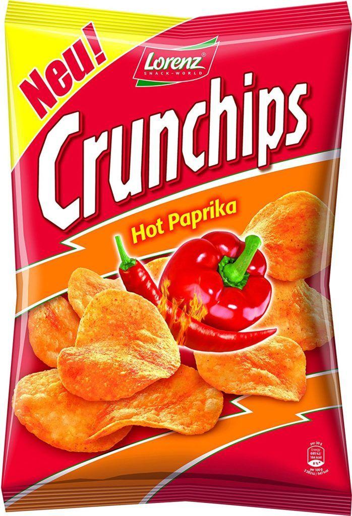 Lorenz Snack World Crunchips Hot Paprika 175g