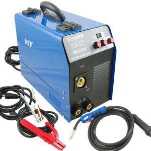 Das MIG-250 Schutzgas Inverter Schweißgerät MIG MAG + E-Hand IGBT