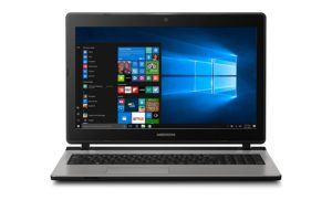 Medion Akoya E6431 MD 60109 39,6 cm (15,6 Zoll Full HD) Notebook (Intel Core i5-6267U, 6GB RAM, 1,5TB HDD, 128GB SSD, Intel IRIS Grafik 550, Win 10 Home) silber