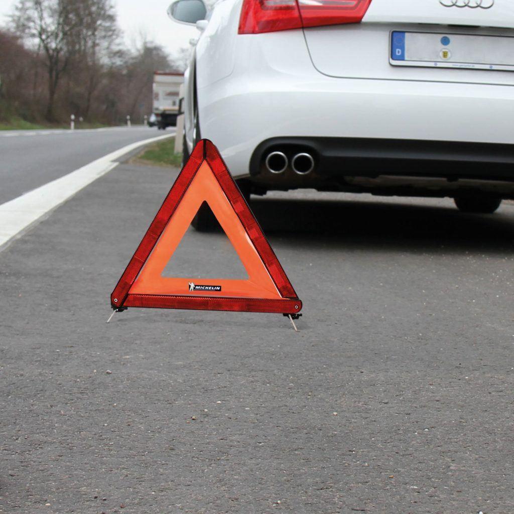 Michelin 92402 Warndreieck ECE Kunststoffk%C3%B6cher Zur Aufbewahrung