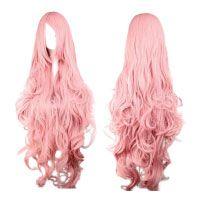 Perücke-Pink-Rosa-ca.-90cm-für-VOCALOID-cosplay