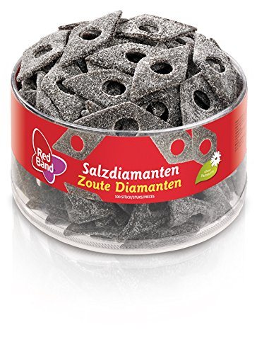 Red Band Salzdiamanten Lakritz 100 St%C3%BCck 1er Pack 1 X 1180 G