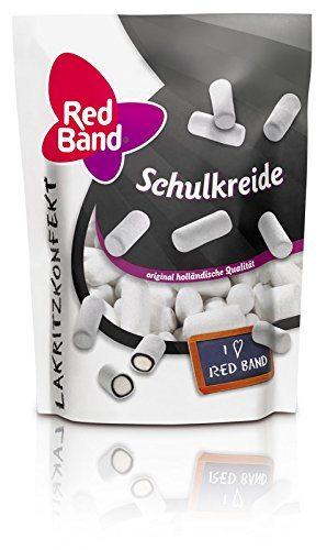 Red Band Schulkreide Lakritzkonfekt 12er Pack 12x 175 G