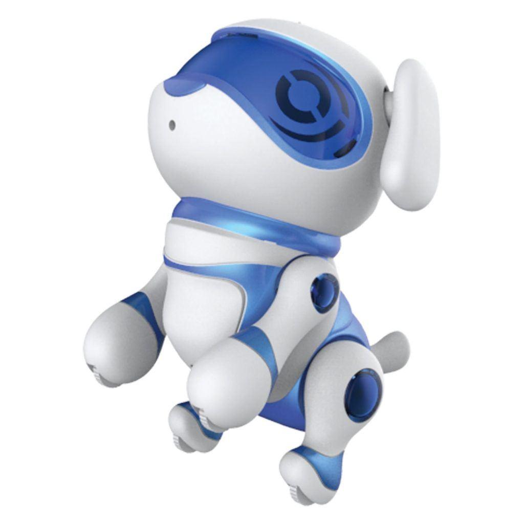 Teksta Newborn 30643P Roboter Haustier Hundewelpe Blau.
