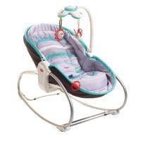 Tiny Love 3-in-1 Rocker-Napper (gemütliche Baby-Schaukel und Babybett in einem, inklusive Vibration und Mobile)
