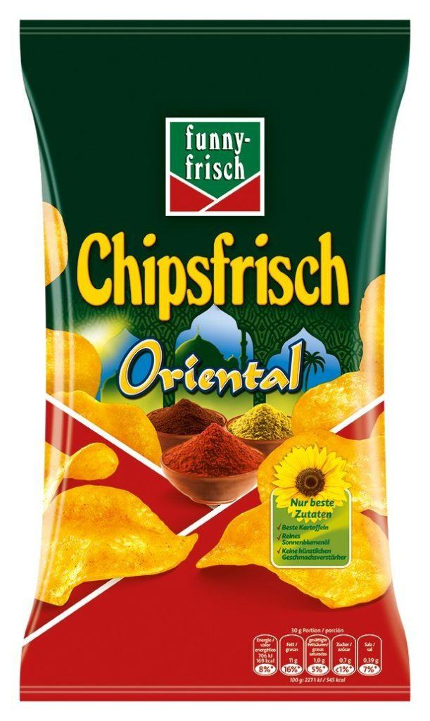 Funny Frisch Chipsfrisch Oriental 175 G