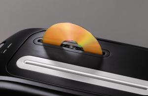 Aktenvernichter von Hama auch für CDs geeignet