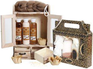 15-teiliges BRUBAKER Beauty Geschenkset Kokosnuss & Vanilla